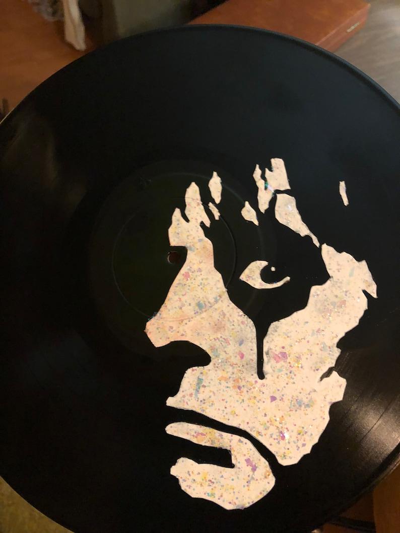 Alice Cooper vinyl record art