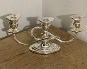 Vintage candelabra silver-plated