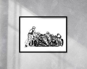 Digital printing of original illustration Size A4 Sleeping dog sheet hugged