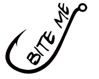 Download Bite Me Fishing Hook Etsy