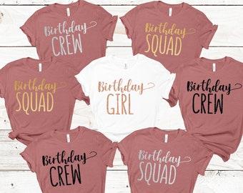 BIRTHDAY SQUAD birthday party birthday tumbler group birthday drinks birthday girl squad