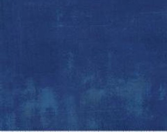 Grunge Cobalt Moda Fabric Blue with Blue Grunge Sold By the  Yard  30150 223