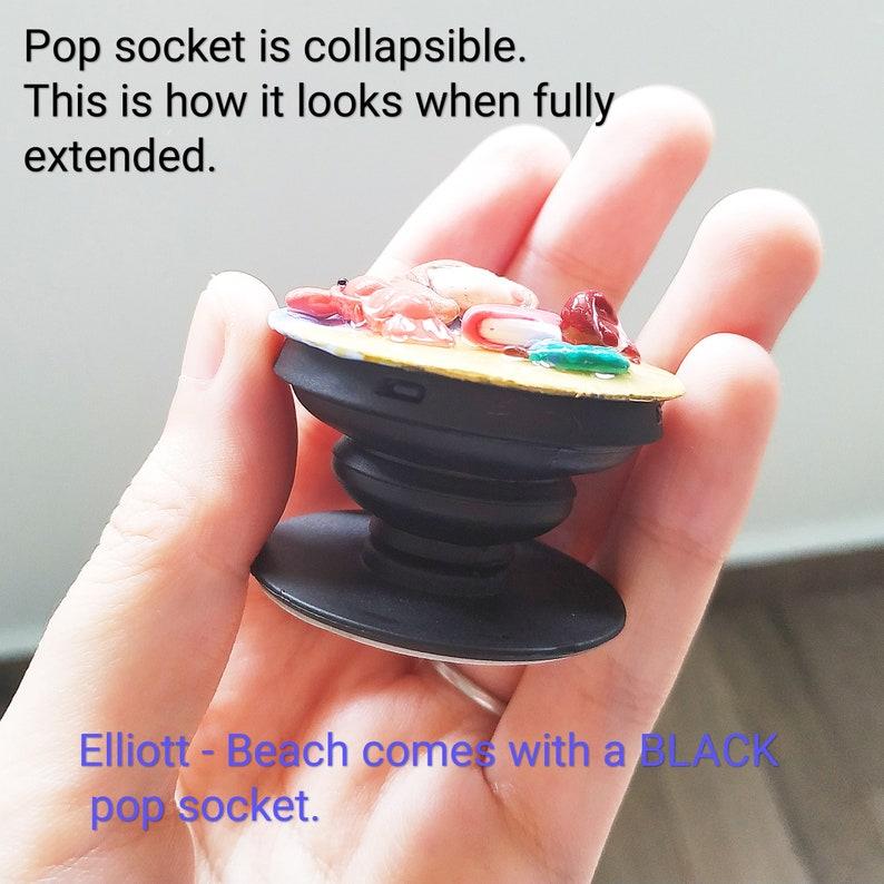 Stardew Valley Elliott Pop Socket  Collapsible Phone Grip