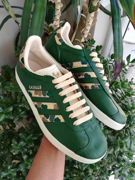 Custom Adidas Gazelle Size 6 | Etsy