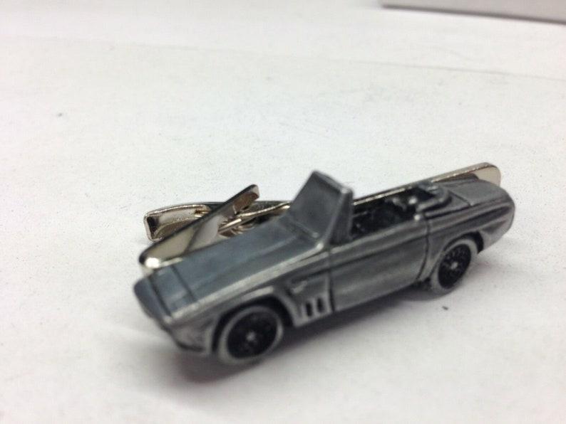 classic French  car SS1 ref200 cuff link cufflink Stick pin tie tack pin badge tie clip classic car