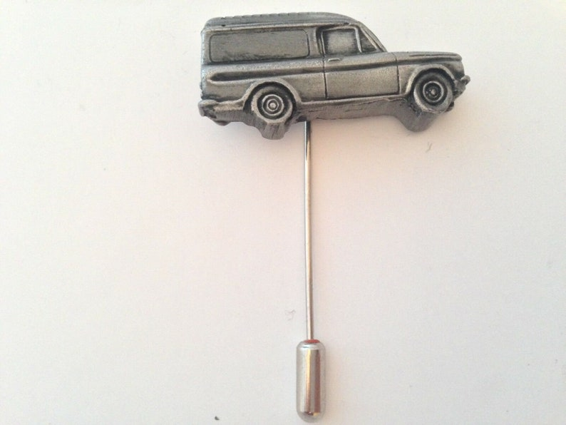 Imp Van refa52 cuff link cufflink Stick pin tie tack pin badge tie clip classic car classic car pewter effect Commer
