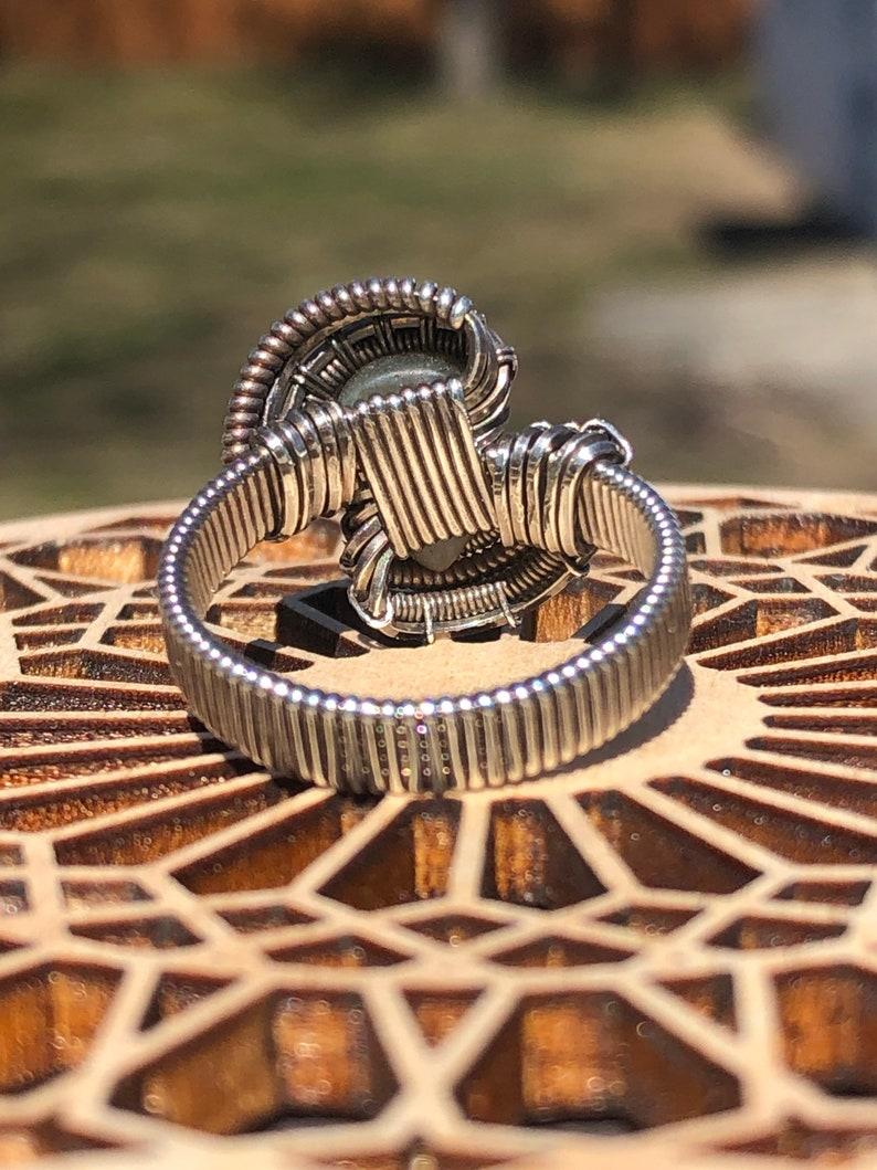Labradorite ring size 7.25
