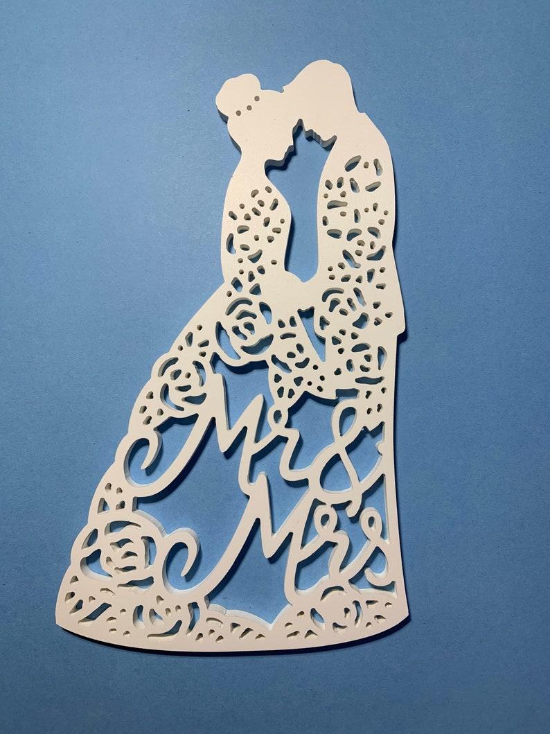 /& Mrs Artwork PVC Mr approx 18inx10in