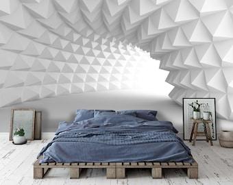 3D Color Wave A2885 Removable Wallpaper Self Adhesive Wallpaper Extra Large Peel /& Stick Wallpaper Wallpaper Mural AJ WALLPAPERS