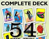 Loteria quot Classic Card Images quot (54 Separate Files) quot High Quality quot Reg. 14.95 On Sale Now