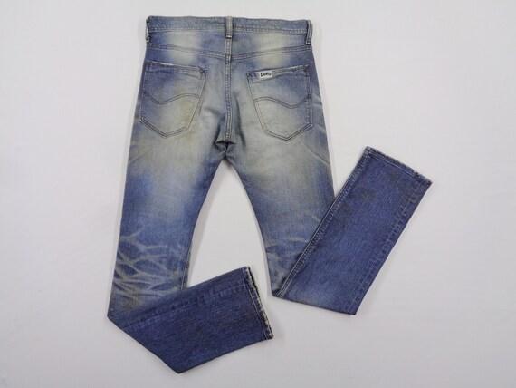 Lee Riders Jeans Vintage Distressed Destroy Lee Ri