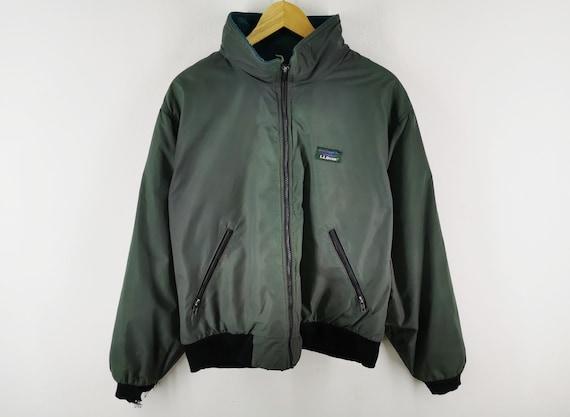 LL Bean Jacket Vintage Distressed LL Bean Windbrea