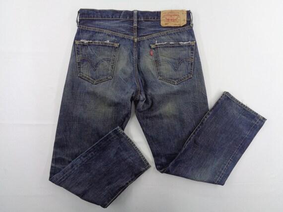 Levis Jeans Vintage Distressed Size 34 Levis 501 J