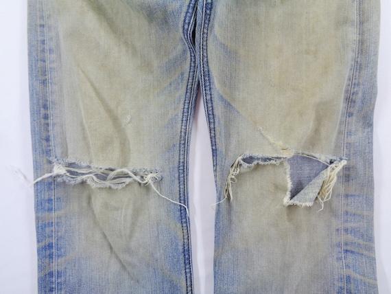 Lee Riders Jeans Vintage Distressed Lee Riders Je… - image 10