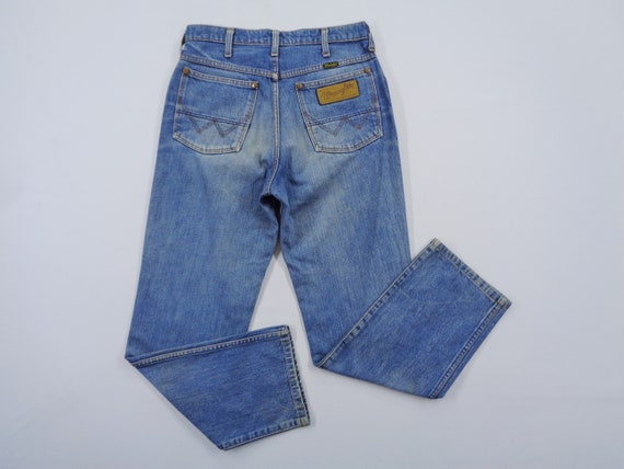 Wrangler Jeans Vintage Distressed Size 30 Wrangler