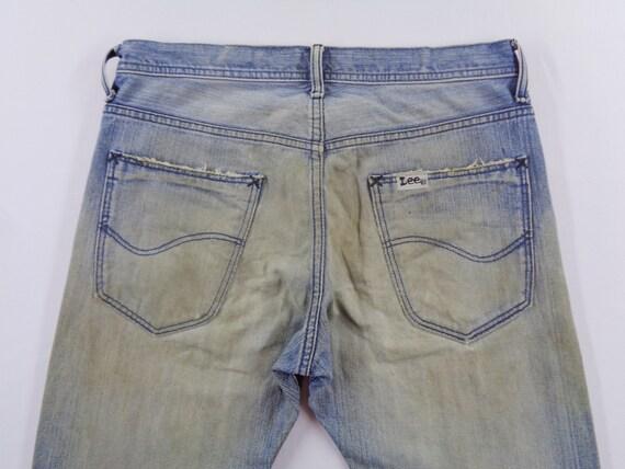 Lee Riders Jeans Vintage Distressed Lee Riders Je… - image 8