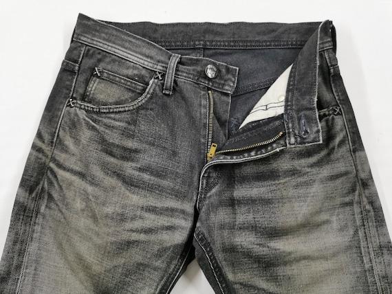 Lee Riders Jeans Vintage Distressed Destroy Size … - image 6