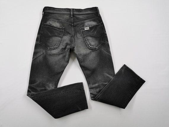 Lee Riders Jeans Vintage Distressed Destroy Size S