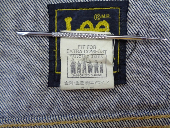 Lee Riders Jacket Vintage Lee Riders Made In Japa… - image 7