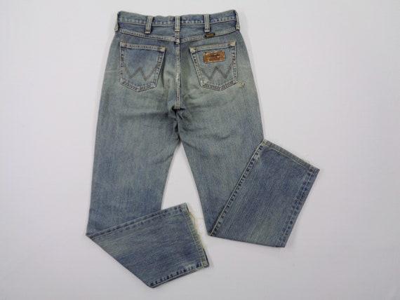 Wrangler Jeans Vintage Distressed Wrangler Jeans P