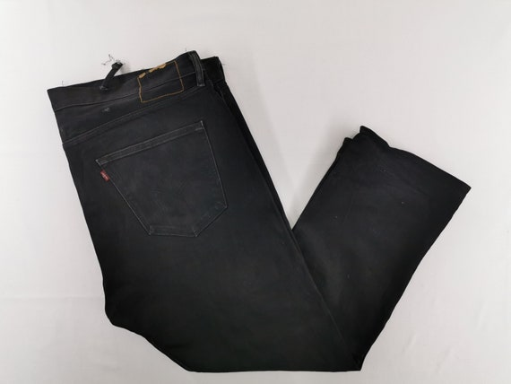 Levis 501 Jeans Vintage Distressed Levis 501 Black