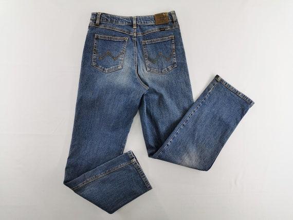Wrangler Jeans Vintage Distressed Wrangler Denim J