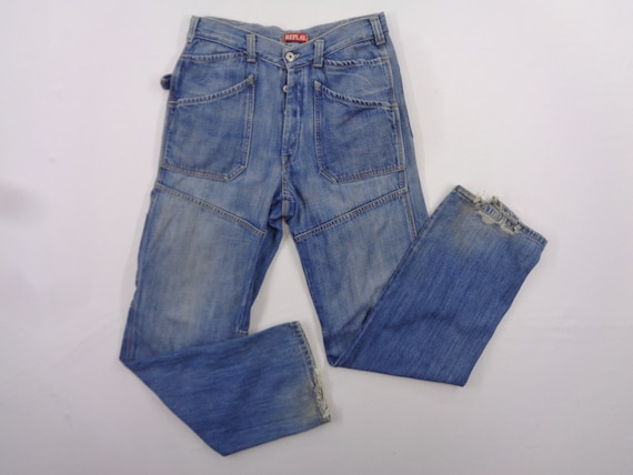 Replay Jeans Distressed Size 31 Replay Denim Jeans