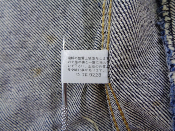 Lee Riders Jacket Vintage Lee Riders Made In Japa… - image 9