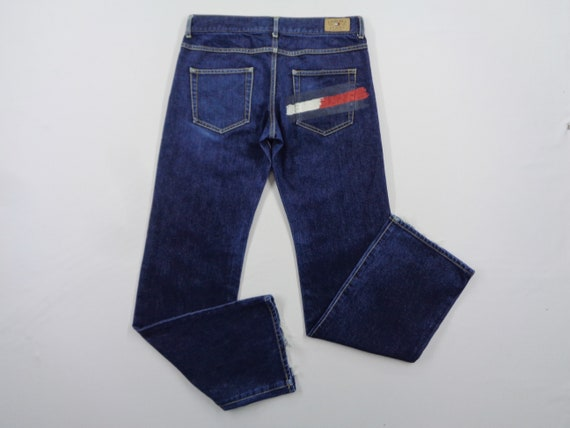 Tommy Girl Jeans Vintage Distressed Size M Tommy G