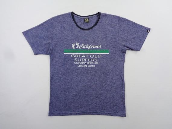 Hang Ten Shirt Hang Ten Surfing T Shirt Size 4L