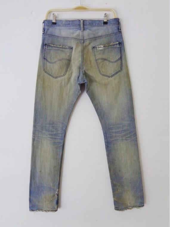 Lee Riders Jeans Vintage Distressed Lee Riders Je… - image 4