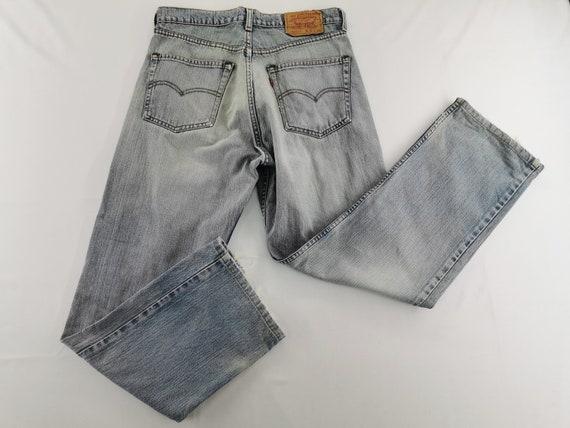 Levis 512-0217 Jeans Distressed Size 32 Levis 512-