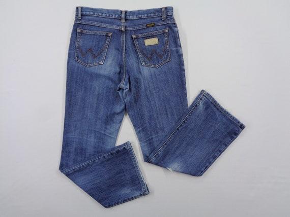 Wrangler Jeans Vintage Distressed Size 31 Wrangler