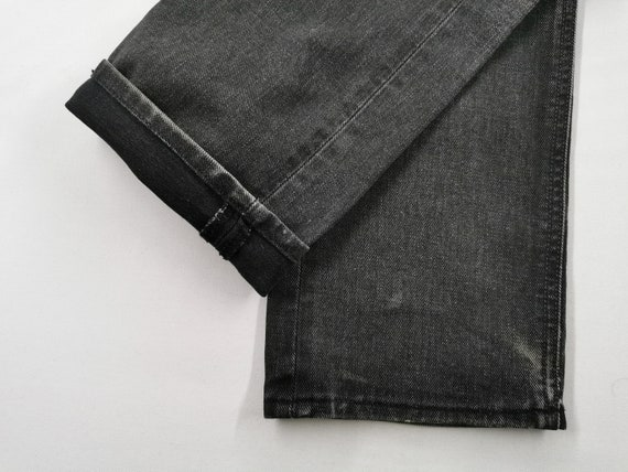 Lee Riders Jeans Vintage Distressed Destroy Size … - image 9