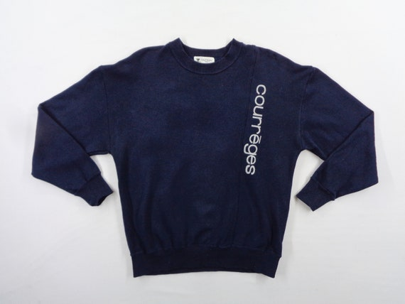 Courreges Sweatshirt Vintage Size 9R Courreges Spe