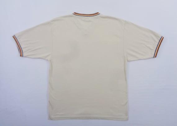 Fila Shirt Vintage Fila Big Logo T Shirt Size L - image 2