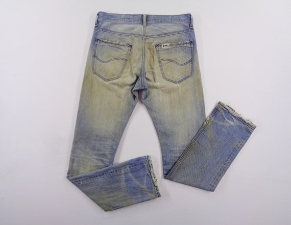 Lee Riders Jeans Vintage Distressed Lee Riders Jea