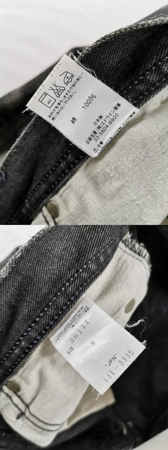 Lee Riders Jeans Vintage Distressed Destroy Size … - image 10
