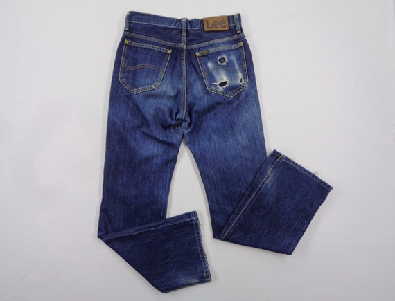 Lee Riders Jeans Vintage Distressed Size 30 Lee Ri