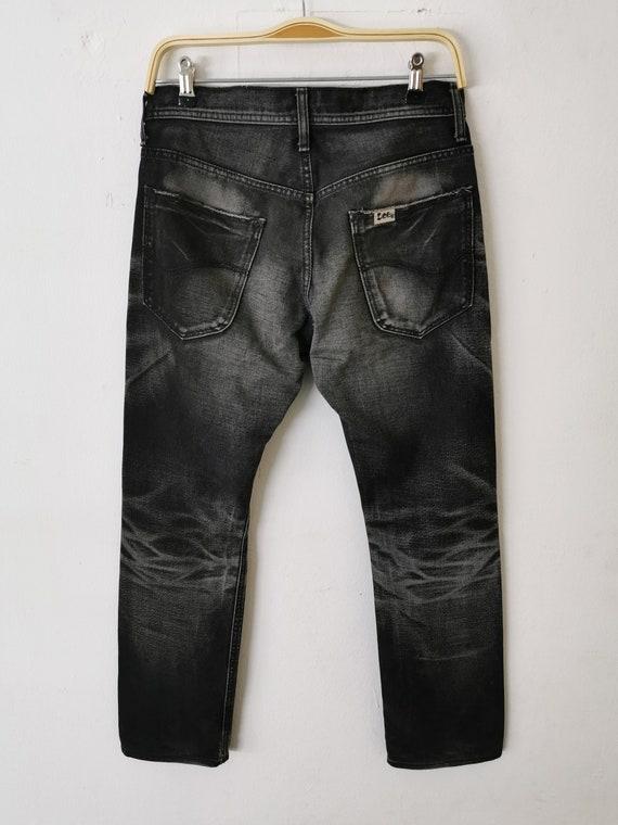 Lee Riders Jeans Vintage Distressed Destroy Size … - image 4