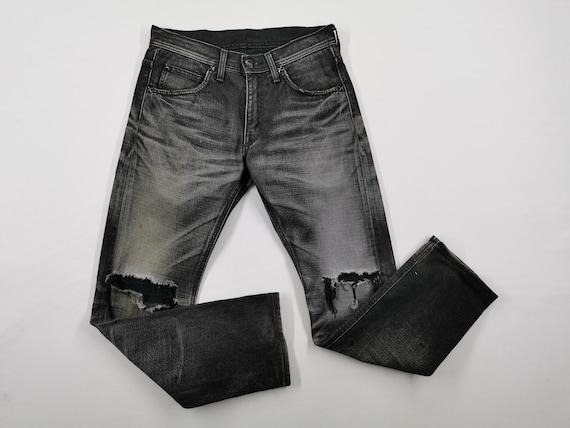 Lee Riders Jeans Vintage Distressed Destroy Size … - image 2