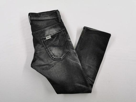 Lee Riders Jeans Vintage Distressed Destroy Size … - image 5