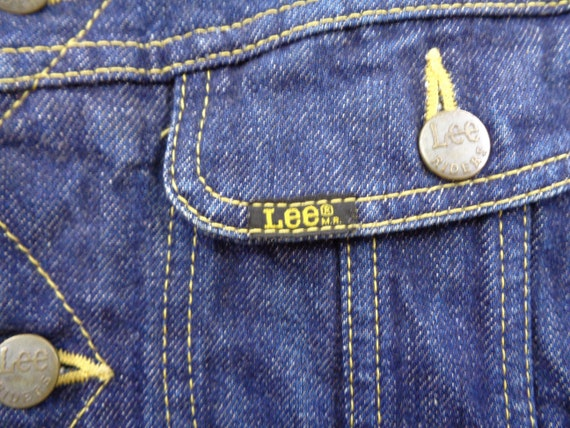 Lee Riders Jacket Vintage Lee Riders Made In Japa… - image 5