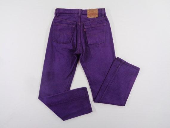 Levis Jeans Vintage Distressed Size 30 Levis 501 J