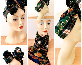 Say No To Racism Womens Square Polyester Satin Neck Head Scarf Scarves Set