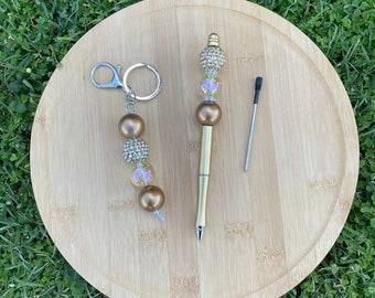 Pen + Keyring set