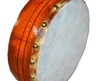 Ethiopian Hand Made Drum Kebero Hand Made With Genuine Goat Skin Traditionally made with Traditional Sound Small