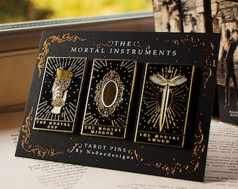 The Mortal Trilogy Enamel Pins
