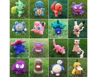 40 Crochet Pokémon Patterns - Gotta Crochet Them All | Crochet News | 270x340