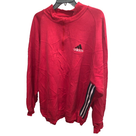 Vintage Adidas Equipment Quarter Zip Sweatshirt